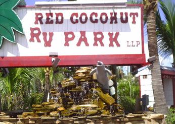 Red Coconut Rv Park Fort Myers Beach Visit Fort Myers Beach