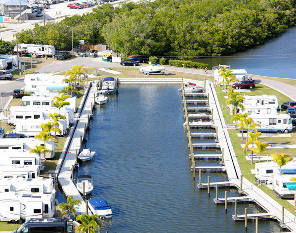 San Carlos R V Resort Marina 18701 Blvd Fort Myers Beach Fl